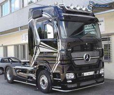 Mercedes, truck, camión