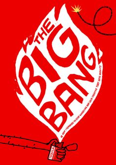 The big bang - Cover of promotional book made for advertising agency Tequila