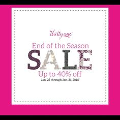 Thirty-One 40% Off!!!