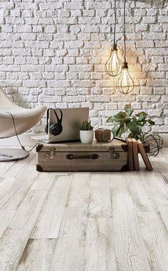 Treverkpaint - Wood Effect - Living Room White Laminate Flooring, Modern Flooring, Latest Bathroom Tiles, Home Made Gym, Decorative Wall Tiles, Wood Look Tile, Living Room Flooring, Farmhouse Style Kitchen, Floor Design