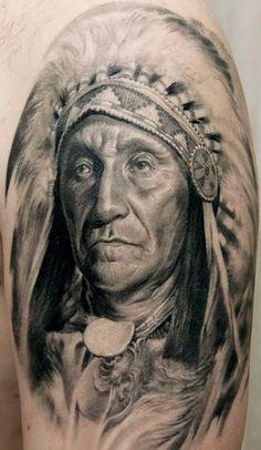 Tattoo Artist - Oleg Turyanskiy - indians tattoo | www.worldtattoogallery.com