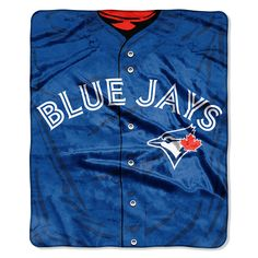 Ensure your comfort when watching the Toronto Blue Jays game at home with this X Jersey plush blanket from The Northwest Company! It features unique Toronto Blue Jays graphics and a soft plush fabric for a cozy feel. Toronto Blue Jays, Blue Jays Game, Texas Rangers, Sports Fan Shop, Mlb, Plush, Design, Products, Cuddle
