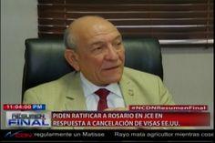 Félix Victorino comenta sobre lo legisladores que Piden ratificación del Magistrado Roberto Rosario en la JCE en respuesta a la Embajada…