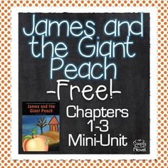James and the Giant Peach {FREE} Mini-Unit