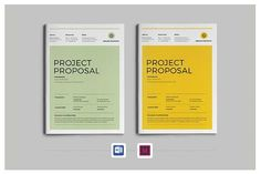 Project Proposal by Occy Design on @creativemarket #webdesign #proposal #brochure #design #stationery #development #books #popular #business #portfolio #marketing