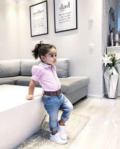 🌺🌺💗make top onesie Cute Little Girls Outfits, Kids Outfits Girls, Toddler Girl Outfits, Little Girl Fashion, Toddler Fashion, Kids Fashion, Kids Dress Wear, Dresses Kids Girl, Outfits Niños