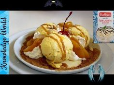 Rafhan Vanilla ice cream Recipe | Homemade Crunchy Caramel Ice-cream | Knowledge World Rafhan Vanilla ice cream Recipe | Crunchy Caramel Ice-cream | Homemade Vanilla Ice-cream recipe - YouTube<br> Twix Ice Cream, Caramel Ice Cream, Vanilla Ice Cream, Ice Cream At Home, Make Ice Cream, Homemade Vanilla, Homemade Ice Cream, Homemade Food, Dessert