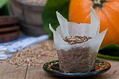 Muffins de Calabaza y Pera con Frutas Deshidratadas