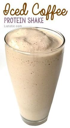 The perfect morning pick-me-up! A super low calorie, non-dairy, high protein, and filling breakfast or lunch smoothie.