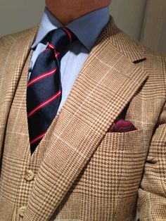 THIS AND THAT STYLE! - dirnelli: Ralph Lauren mega-PoW 3-piece suit, in...