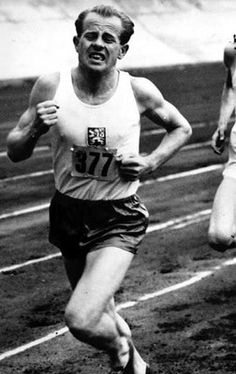 Emil Zatopek - An athlete cannot run with money in his pockets. He must run with hope in his heart and dreams in his head.