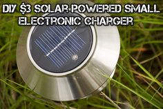 DIY $3 Solar Powered Small Electronic USB Charger - SHTF Preparedness