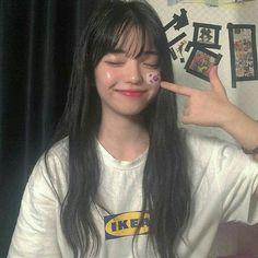 ☆ feel free to remove my added caption ☆ Pretty Korean Girls, Cute Korean Girl, Pretty Asian, Korean Beauty, Asian Beauty, Korean People, Ulzzang Korean Girl, Uzzlang Girl, Korean Fashion Trends