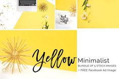 Yellow Minimalist | Styled Stock Photography | For Bloggers, Makers, and Creative Entrepreneurs