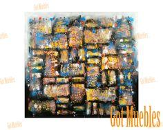 Cuadro Abstracto Artem Elka www.gotmuebles.mx