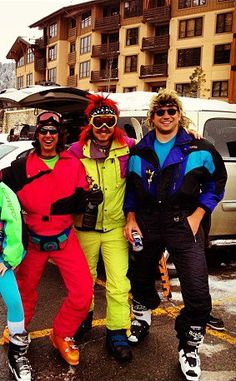 you think I'm kidding, but I would totally rock these threads when I ski.