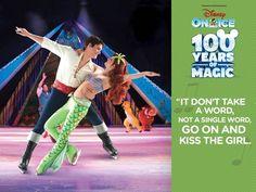 """Canta con nosotros y ayuda a Sebastián con el coro… """"Besa la"""" en Disney On Ice 100 years of Magic! Boletos + Info en Ticket Center www.tcpr.com"""