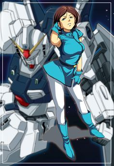 Emma Sheen (エマ・シーン Ema Shīn) is a 24 year old Newtype mobile suit pilot for the Anti Earth Union Group. Emma was once a member of the Titans (an elite unit of the Earth Federation Forces). She is most often pilots a Gundam Mk-II. Gundam Wing, Gundam Art, Zeta Gundam, Gundam Wallpapers, Robot Girl, Mecha Anime, Gundam Model, Girls Characters, Mobile Suit