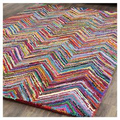 Shop AllModern for Safavieh Nantucket Chevron Area Rug - Great Deals on all  products with the best selection to choose from!