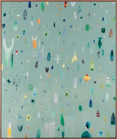 Fred Fowler - Ecological Society of Australia, Oil on masonite, 78.4 x 93.6cm framed