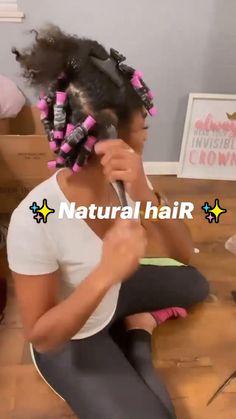 Curly Hair Tips, Natural Hair Tips, Natural Hair Growth, Natural Hair Styles, Short Black Natural Hairstyles, Natural Hair Tutorials, Natural Hair Braids, Hair Twist Styles, Hair Ponytail Styles
