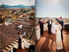 Symbolic Ceremony ver the roofs of Florence
