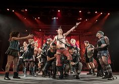 """Students perform """"American Idiot,"""" the fall musical for the School of the Arts, which features student-produced sets, costumes, lighting, sound, and music."""