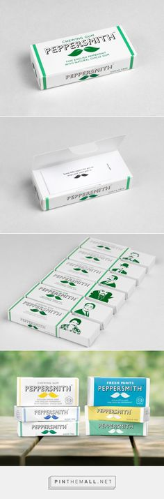 Peppersmith / natural gum by · B&B studio ·