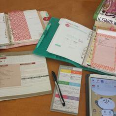 Meal planning using my Malden and #kikkik #filofax #fitnessplanner #planner #miagenda #comesano @izzydreams