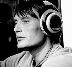 Mads Mikkelsen in Black & White.