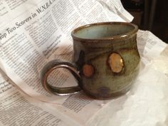 high-fired stoneware, from a batch using dark celadon, and temmoku glazes with rutile wash