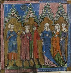 14th century (1320-1330) Hainaut or Valenciennes Bibliothèque nationale de France Français 571: (i.a.) Livre du Trésor by Brunetto Latini fol. 92r http://gallica.bnf.fr/ark:/12148/btv1b84510972/f1.planchecontact