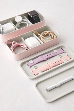 Shop BentoStack Tech Organizer at Urban Outfitters today. Apple Watch Accessories, Iphone Accessories, Travel Accessories, Wine Gift Baskets, Basket Gift, Accessoires Iphone, Coque Iphone, Apple Watch Bands, Graduation Gifts