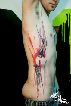 Another awesome watercolor tattoo