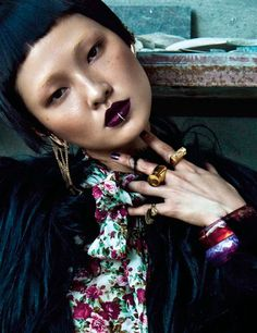 visual optimism; fashion editorials, shows, campaigns & more!: wang xiao by li qi for numero china #32 september 2013