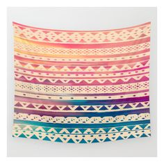 Surf Tribal Ii Wall Tapestry ($39) ❤ liked on Polyvore featuring home, home decor, wall art, wall tapestries, interior wall decor, surf wall art, mounted wall art and home wall decor