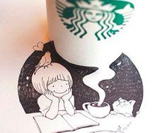 Descubriendo el arte de Tomoko Shintani y su pasión por Starbucks