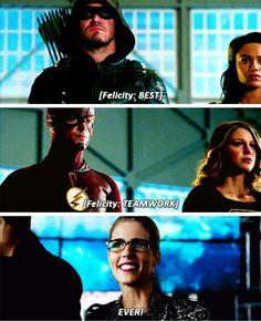 #Arrow #TheFlash #Supergirl #LegendsofTomorrow - 4 Nights Crossover Teaser Promo
