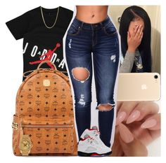 """""""Untitled #1246"""" by msixo ❤ liked on Polyvore featuring MCM and Rolex"""