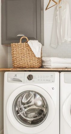 Diy Laundry Room Closet Makeover On The Modern Farmhouse