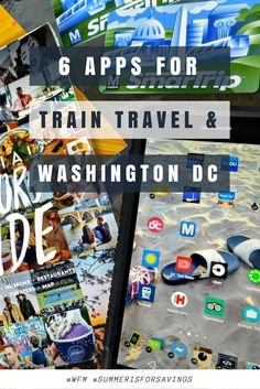 6 Apps for Traveling by Train to Washington D.C. with Walmart Family Mobile #WFM #SummerIsForSavings #travel #washingtondc #wanderlust #walmartfamilymobile #technology #apps #travelapp #AD