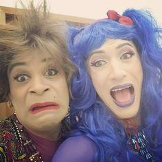 """Eu e o maravilhoso @denislacerdapiaf !!! Em breve no Multishow """" Treme ! Treme """"  by eraldofontiny"""