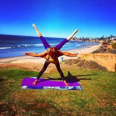 Partner Yoga Photos on Instagram | POPSUGAR Fitness