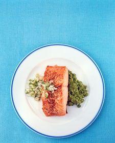 Salmon with Scallion Relish - WWPP 9