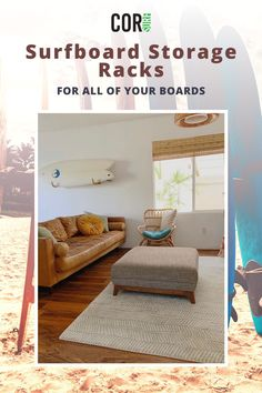 Our eco-friendly and sustainable surf gear is durable and high-quality. Shop our surf and SUP essentials. Storage Rack, Surfboard Storage Rack, Freestanding Storage, Gifts For Surfers, Surfboard Storage, Surf Rack, Accessories Storage, Vintage Surf, Storage
