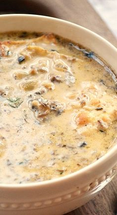 This is the best ever mushroom soup. This creamy mushroom soup is easy to make, low carb, dairy free, vegan, paleo and friendly. Ready in about 30 minutes. This recipe will soon become your go to soup. Creamy Mushroom Soup, Mushroom Soup Recipes, Mushroom Pizza, Creamed Mushrooms, Stuffed Mushrooms, Stuffed Peppers, Bowl Of Soup, Soup And Salad, Sweets
