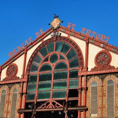 Mercat de Sant Antoni 1882  #eixample #Barcelona