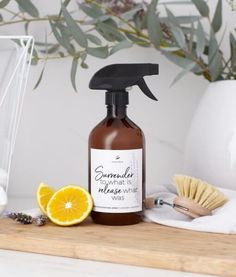 Buy Santosa Good For Everything spray online in NZ at Oh Natural: Your conscious beauty & lifestyle store! Cleaning Spray, Lavender Oil, Plastic Bottles, Spray Bottle, Grapefruit, Natural Skin Care, Cleaning Supplies, Everything, Essential Oils
