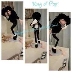 """""""King of Pop"""" design and pattern by Ginia Mees"""