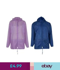 e300a2203a Next Blue Geo Ladies Hooded Rain Mac Shower Resistant Coat Pac Away ...